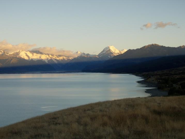 Aoraki/ Mt Cook. New Zealand's highest peak