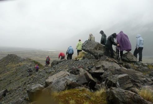 wet hike